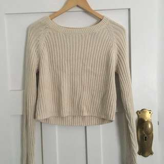 Glassons Cream knit jumper