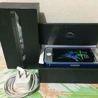 iPhone 5 White 64GB Globe Locked  (MAG BASA)