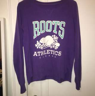 Roots loose crewneck sweater