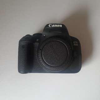 Canon 700d + EFS 18-55mm lens