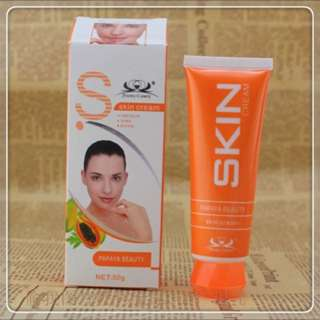 Papaya all natural wrinkle and blemish reducing cream