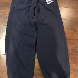 Boys size large Roots sweat pants with Pocktes