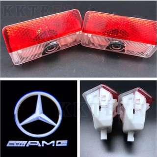 Mercedes Benz door logo lights