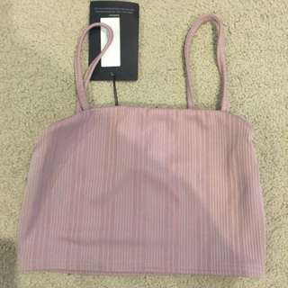 MISGUIDED Crop Top Size 10