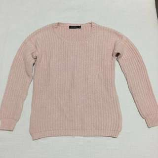 Warm Woollen Pink Glassons Jumper