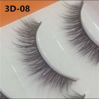 5 pairs of fluffy lashes
