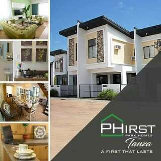House and Lot @Phirst Park Homes Tanza Cavite