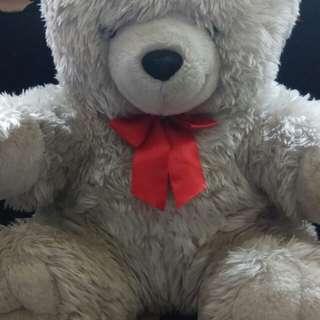 Boneka teddy white