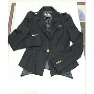西裝外套  黑色外套