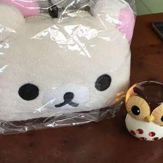 懶懶熊妹攜帶零錢卡包(全新正)