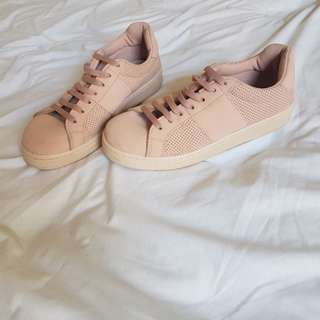 Pink asos sneakers size 38