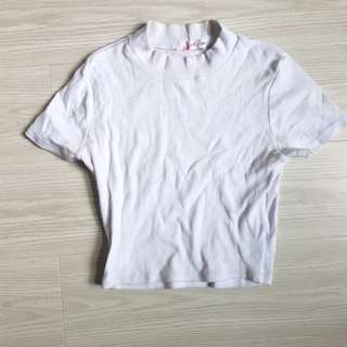 Supre basic high neck tshirt