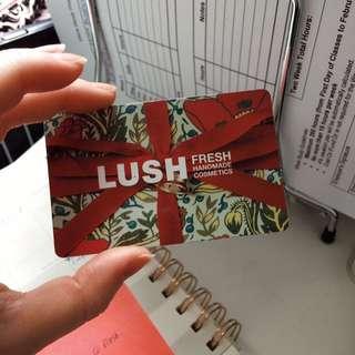LUSH Giftcard