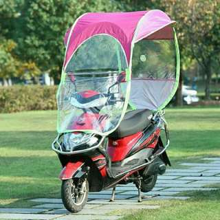 Cash-On-Delivery Motorcycle Umbrella / Motor Canopy / Motor Cover