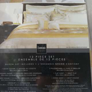 BNIP Beco 12 Piece Duvet Cover Set Queen