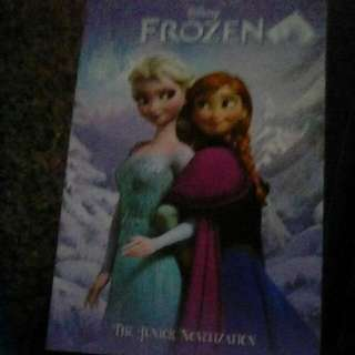 Frozen Book Includes Pictures