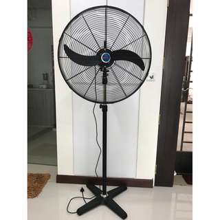 """BELL 26"""" Industrial Power Stand Fan. Brand New!"""