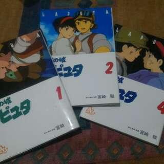 Studio Ghibli's Laputa:Castle in the Sky, Animage Comics Special Vol. 1,2 & 4