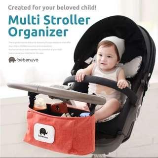 嬰兒車 多功能儲存物收納袋