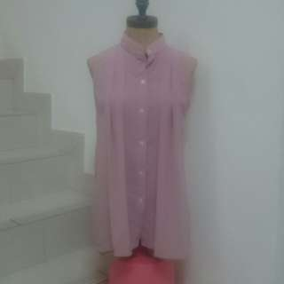 #Swap Dusty Pink Top