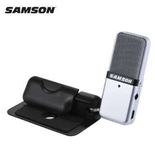 Samson GO Mic Condenser Kit with Bag for computer laptop