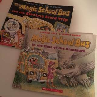 Magic School  Bus like new. 7$ for both