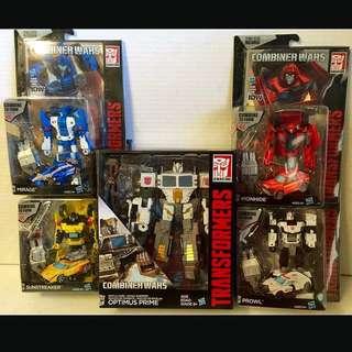 Combiner War Battle Core Optimus Prime or Optimus Maximus Transformer