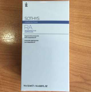 Sothys RA regenerative ampoules