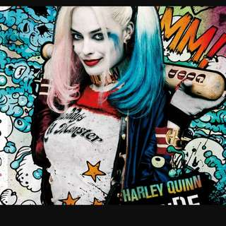 Harley quinn outfit-wore once