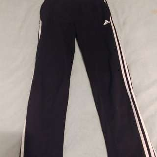Adidas Clima Cool fitted track pants - Large