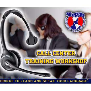 call center training workshop