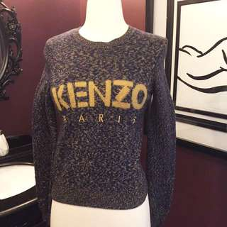 Kenzo logo knitted sweater