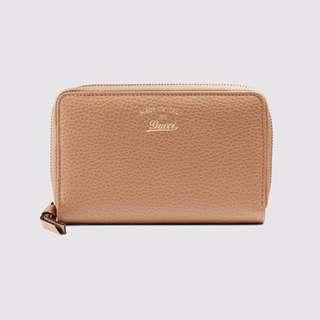 Gucci Swing Zip Around Wallet (Authentic)