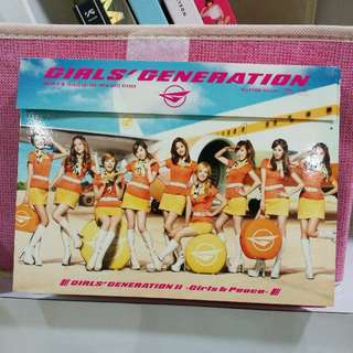 GIRLS GENERATION GIRLS AND PEACE (CD+DVD)