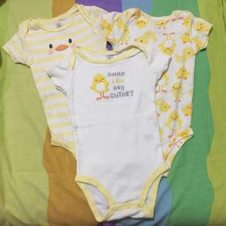 Carter's onesies (3 for 300)
