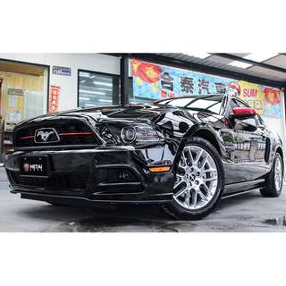 2012 FORD MUSTANG 黑 3.7