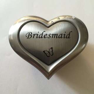 Bridesmaid Trinket Box