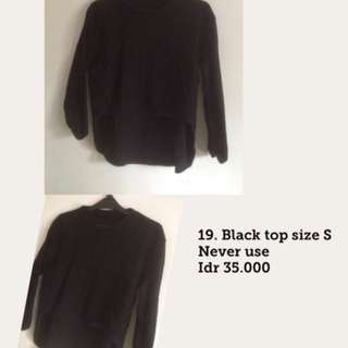 Black top crop