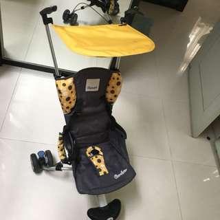 Stroller cocolatte isport yellow