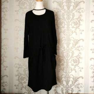 韓版純棉寬版洋裝