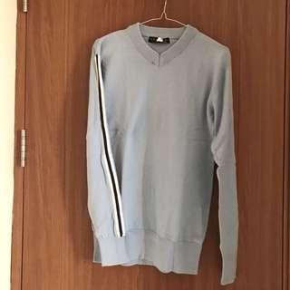 Sweater Skylin Size M (Warna Sky Blue)