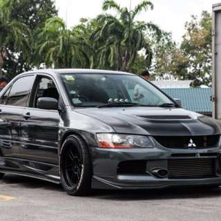 Mitsubishi Evolution 9 GT