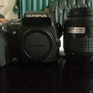 Camera DSLR Olympus E500