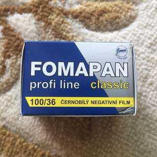 Fomapan Classic 100 Profi Line Black & White Fresh Film Roll ( iso 100 )