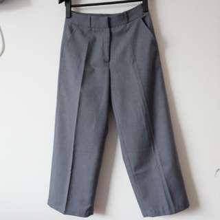 Grey Cullote Pants