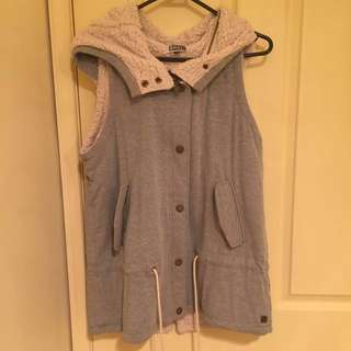 Grey Roxy Vest