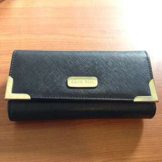 Kate Hill Black And Gold Purse