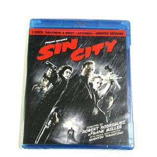 Frank Miller Sin City Recut & Extended Unrated Edition Blu-ray Bluray