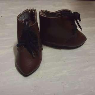 Bjd Leeke 26cm高D type可著公仔鞋 短boot