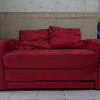 PRICE DOWN! SALE! Sofa Bed Merah